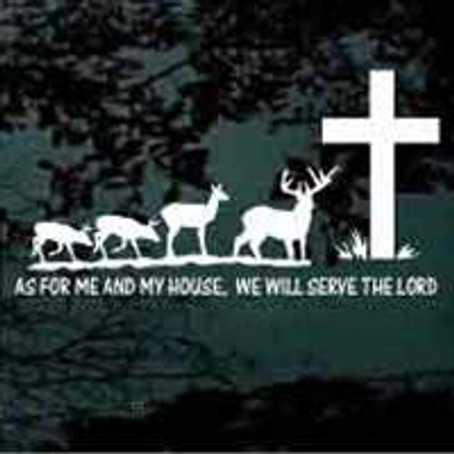 Deer Family Serve The Lord