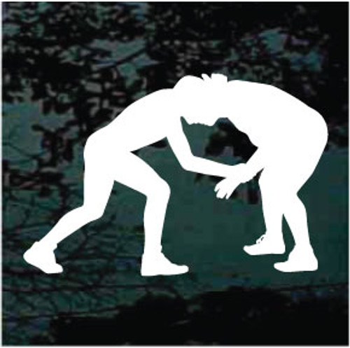 Wrestling Silhouette 04 Decals