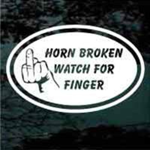 Horn Broken Watch For Finger 02