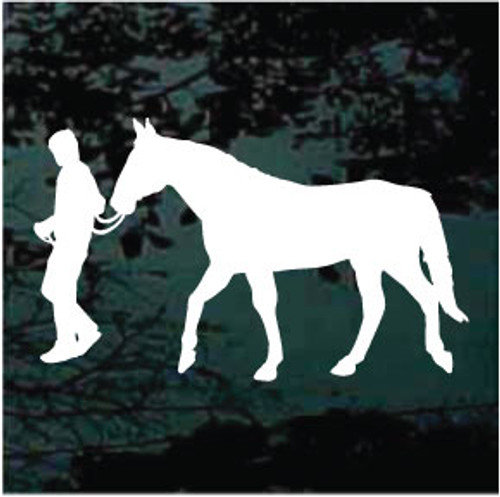 Horse & Rider Silhouette