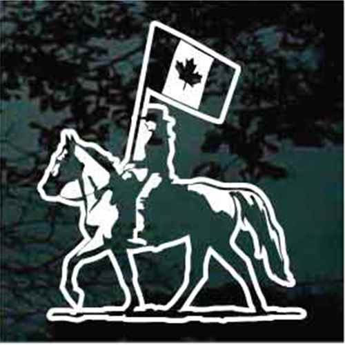 Canadian Equestrian Drill Team Decals