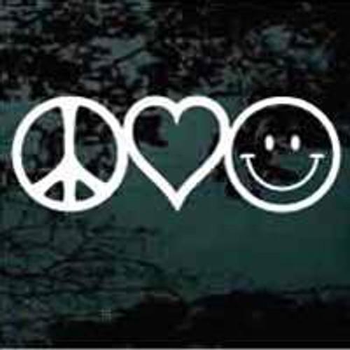 Peace Love & Happiness