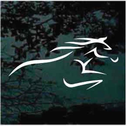 Horse Racing Logo Decals