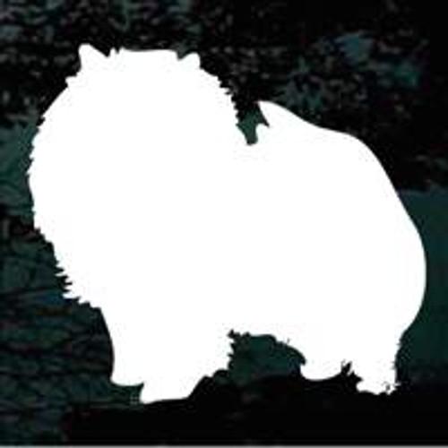 Pomeranian 01 Window Decal