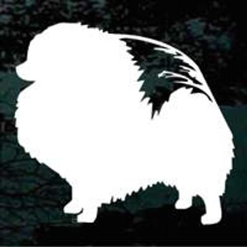 Pomeranian 02 Window Decal