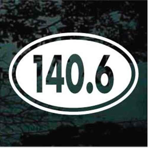 140.6 Full Ironman Triathlon Oval