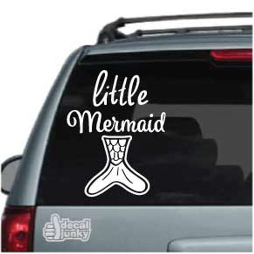Little Mermaid Car Window Decal