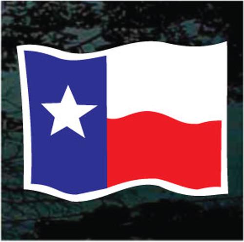 Texas Flag Waving