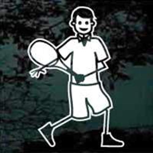 Stick Tennis Man Player 01