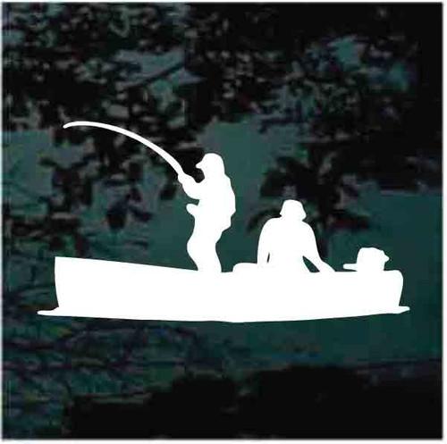 Jon Boat Fishing Decals