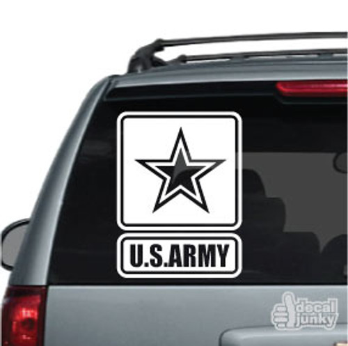 U.S. Army Logo Car Decal
