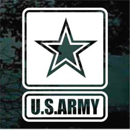 U.S. Army Logo Window Decal