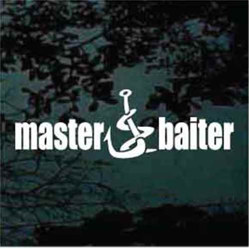 Master Baiter Window Decals
