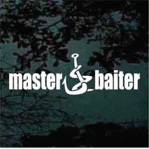 Master Baiter Decals