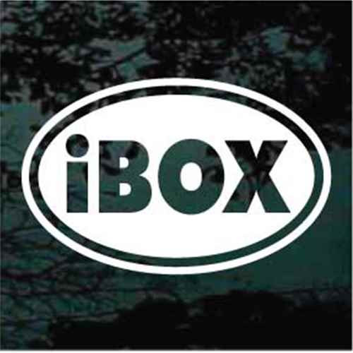 iBox Oval Decals