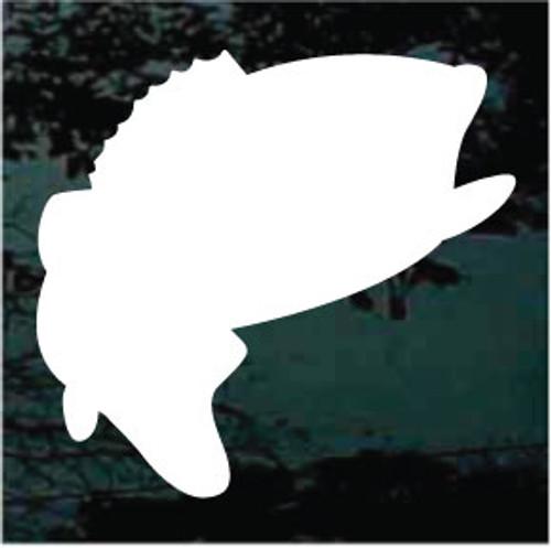 Bass Fish Silhouette