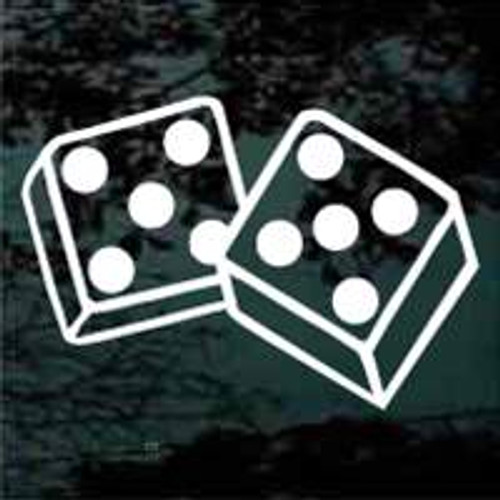 Double Fives Dice Decals