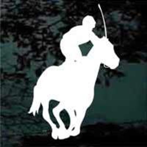 Horse Jockey Racing Horse