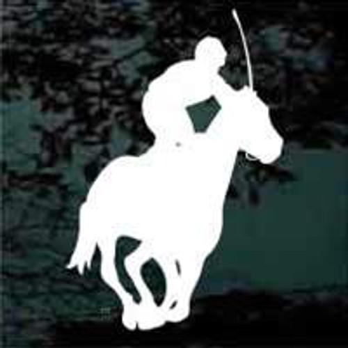 Horse Jockey Racing Horse Decals