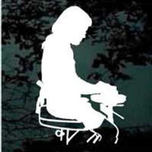 Woman on Pottery Wheel 03