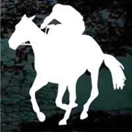 Silhouette Horse Jockey Horse Racing