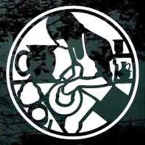 Round Pottery Making Logo