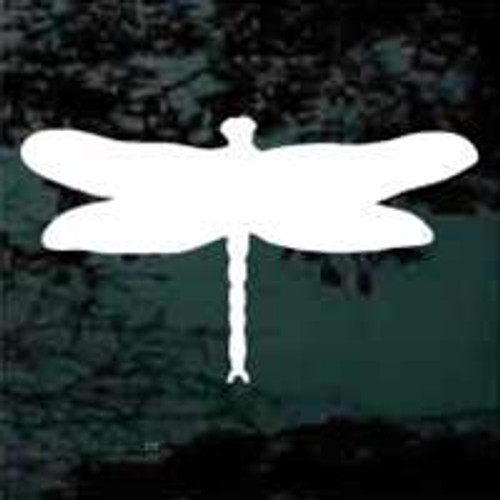Dragonfly Silhouette Window Decals
