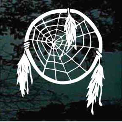 Dreamcatcher With Three Feathers