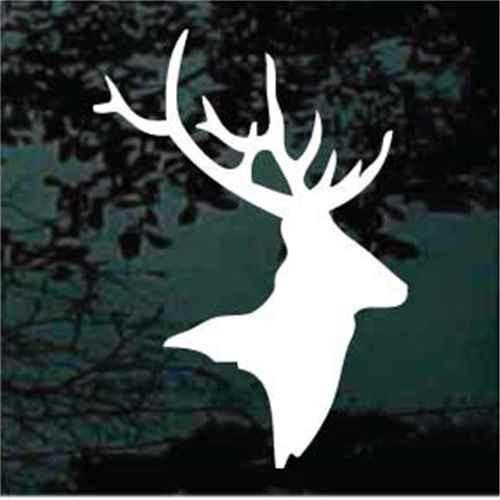 Buck Head Silhouette