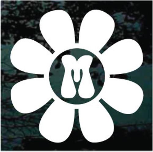 Flower Power Bellbottom Monogram