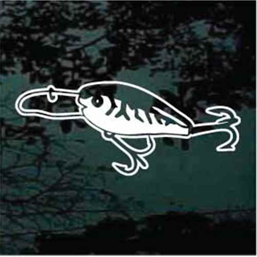 Fishing Lure Decals & Car Window Stickers Personalized | Decal Junky