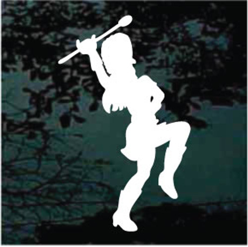 Marching Majorette Decals