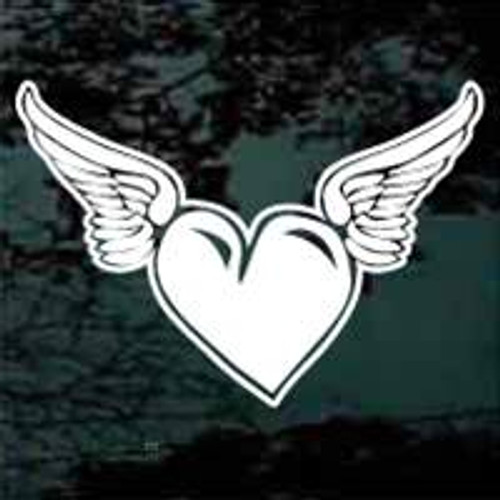 Heart With Angel Wings 03