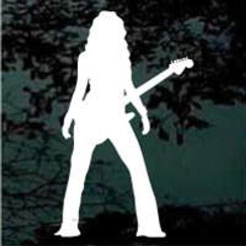 Girl Guitar Player 01