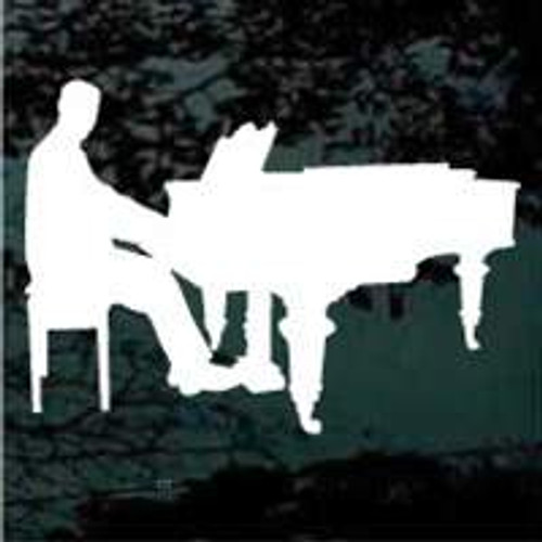 Playing Baby Grand Piano
