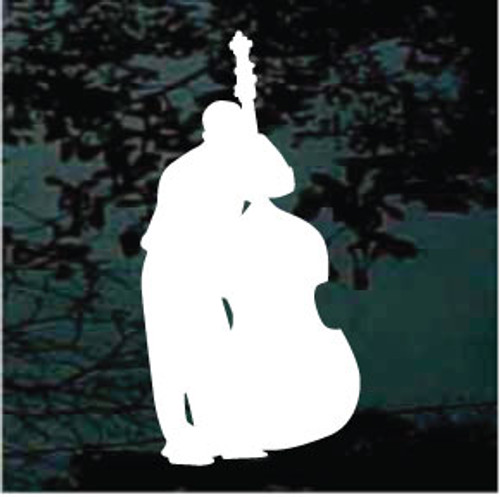 Silhouette Bass Player