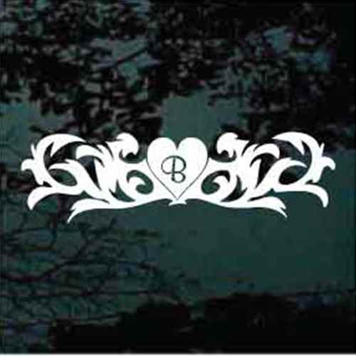 Heart Fleuron Monogram