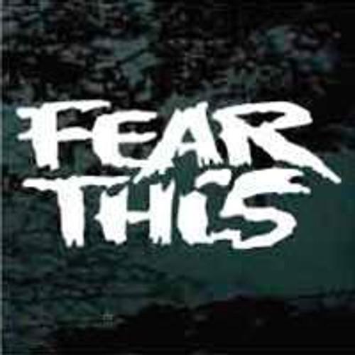 Grunge Fear This Decals
