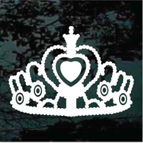 Jeweled Heart Tiara