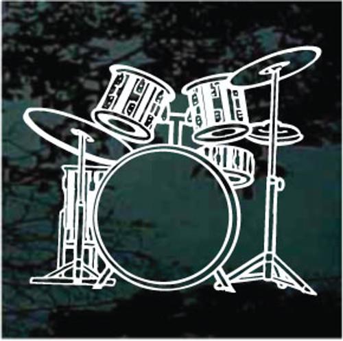 Detailed Drum Set