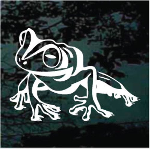 Bullfrog Sitting Decal