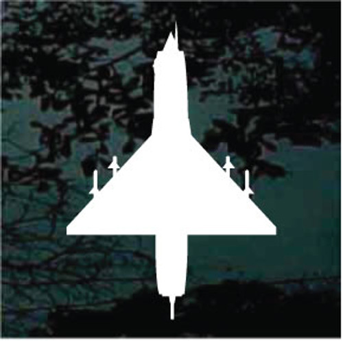Airplane Silhouette 14 Decals