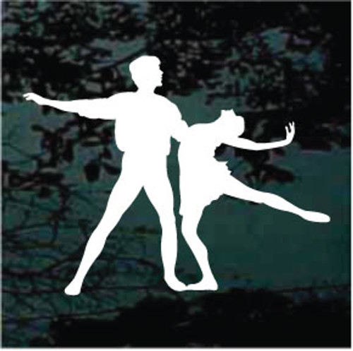 Ballet Dance Partners Decals