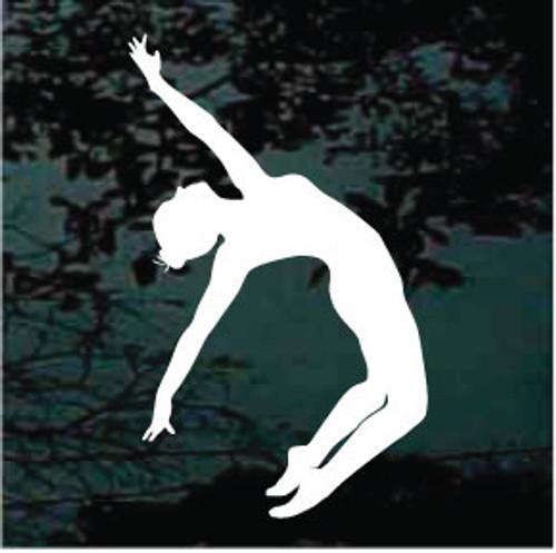 Back Bend Ballerina Decals