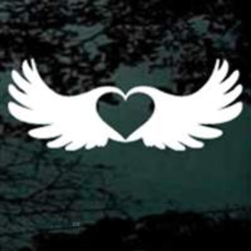 Heart Inside Angel Wings
