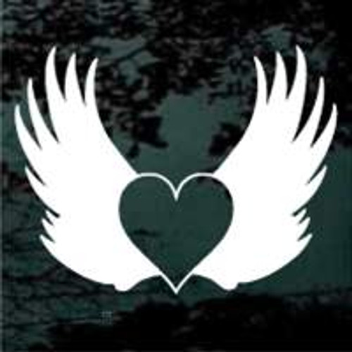 Angel Wings With Heart Inside