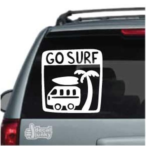 Go Surf Car Decal
