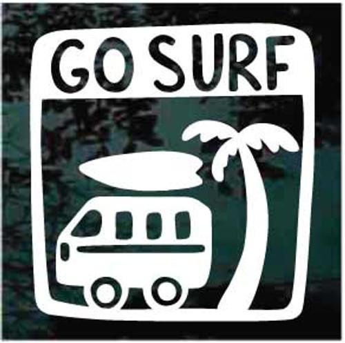 Go Surf Window Decal