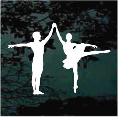 Ballet Couple Dancing Silhouette