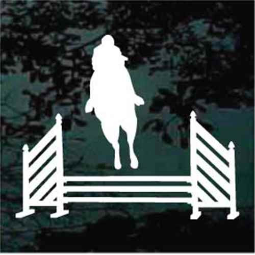 Equestrian Jump Horse Jumping Decals